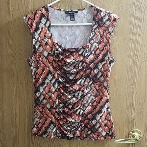 Style&Co, Short Sleeved Summer Blouse, M